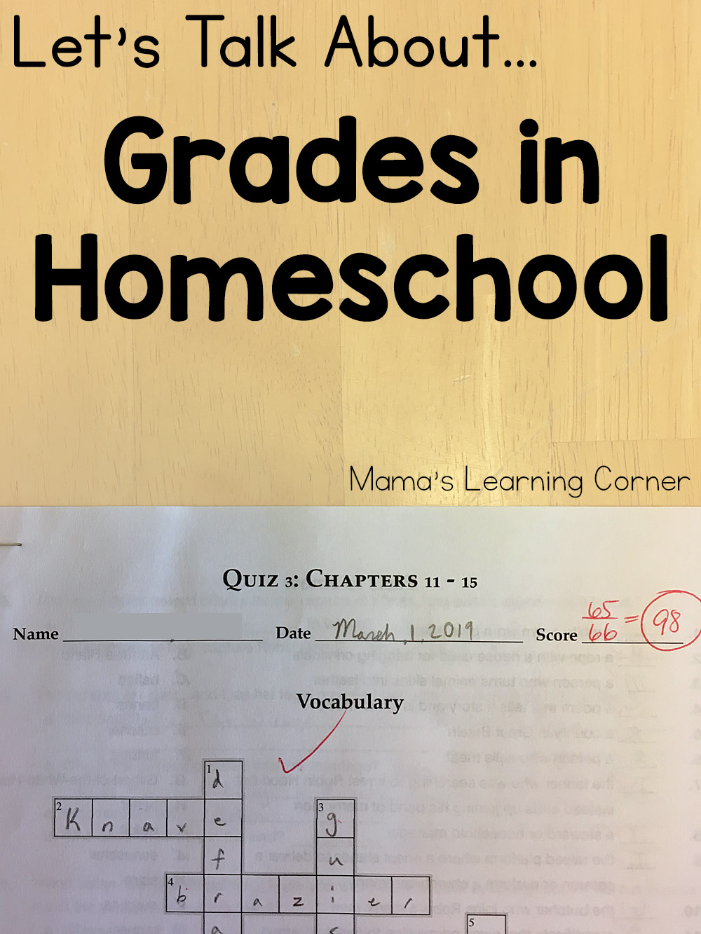 Grades in Homeschool