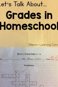 Let's Talk About Grades in Homeschool