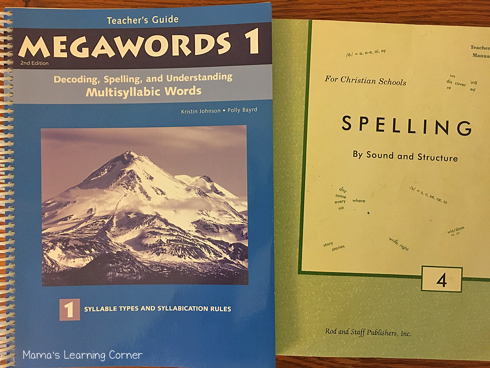 How I Teach Spelling in Our Homeschool Rod and Staff