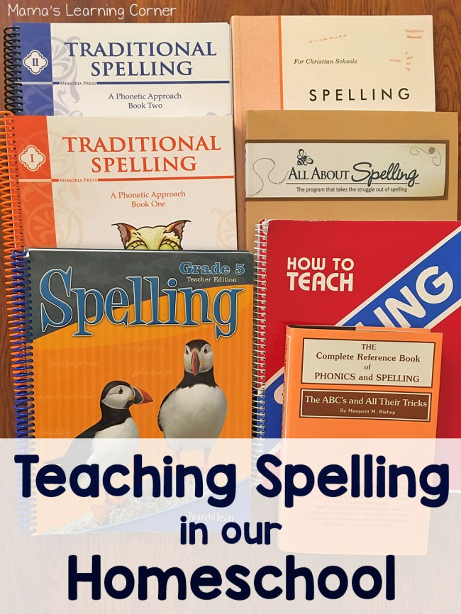 How I Teach Spelling in Our Homeschool