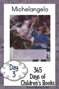 Day 3 of Children's Books – Michelangelo