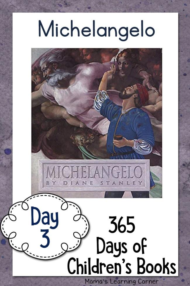 Children's Books - Michelangelo by Diane Stanley