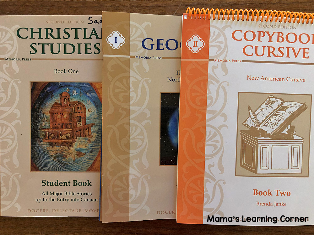 5th Grade Homeschool Curriculum Bible, Geography, Cursive