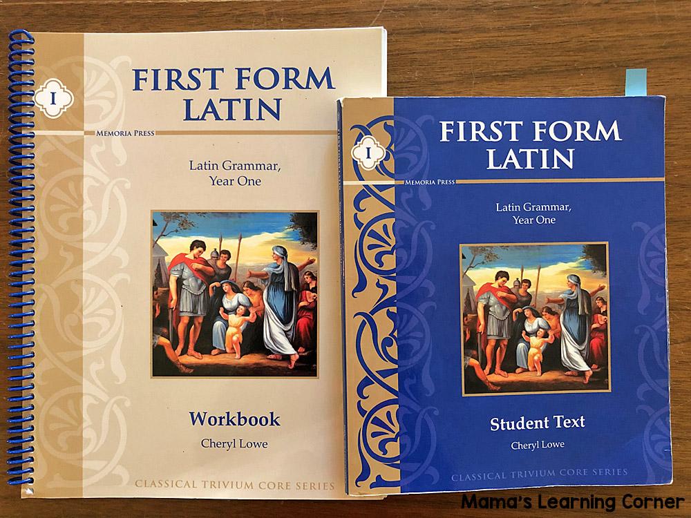 5th Grade Homeschool Curriculum First Form Latin
