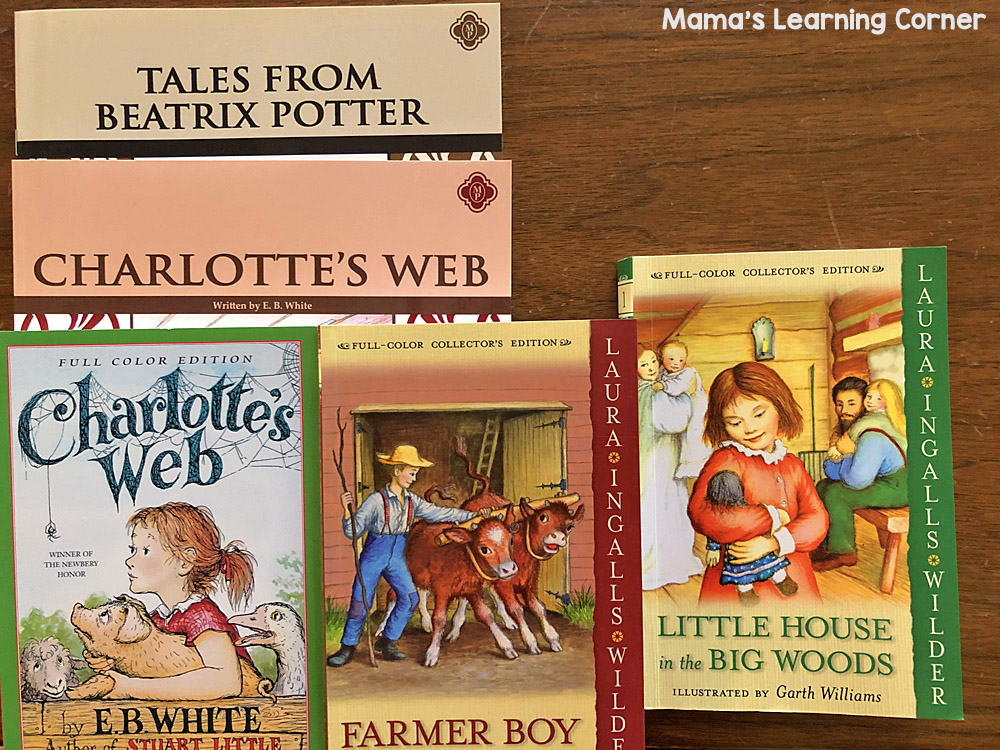 3rd Grade Homeschool Curriculum Literature and Phonics