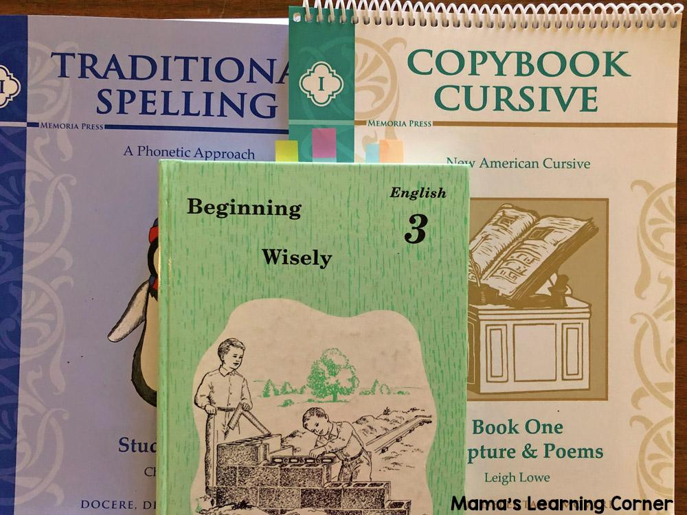 3rd Grade Homeschool Curriculum Spellng English Copybook