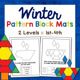 Winter Fall Patter Blocks 2 Levels