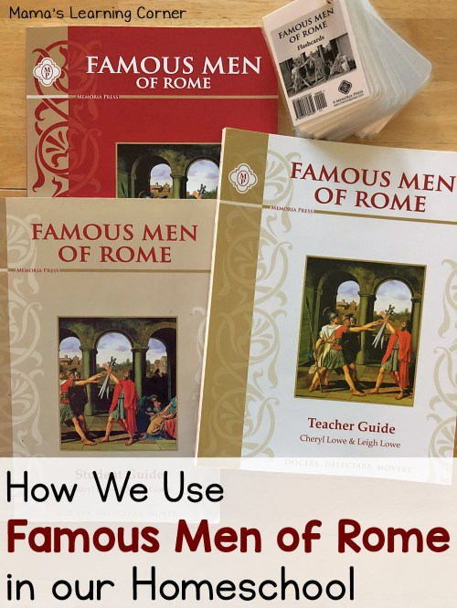 small resolution of How We Use Famous Men of Rome in Our Homeschool - Mamas Learning Corner