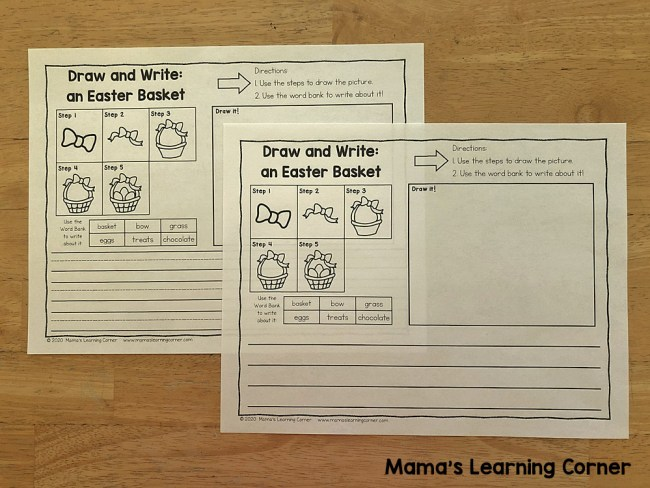 Easter Directed Draw and Write