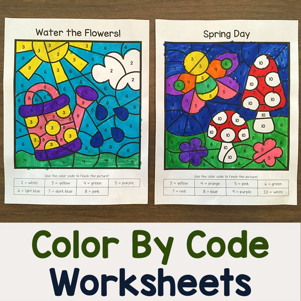 Color By Number Packets Archives