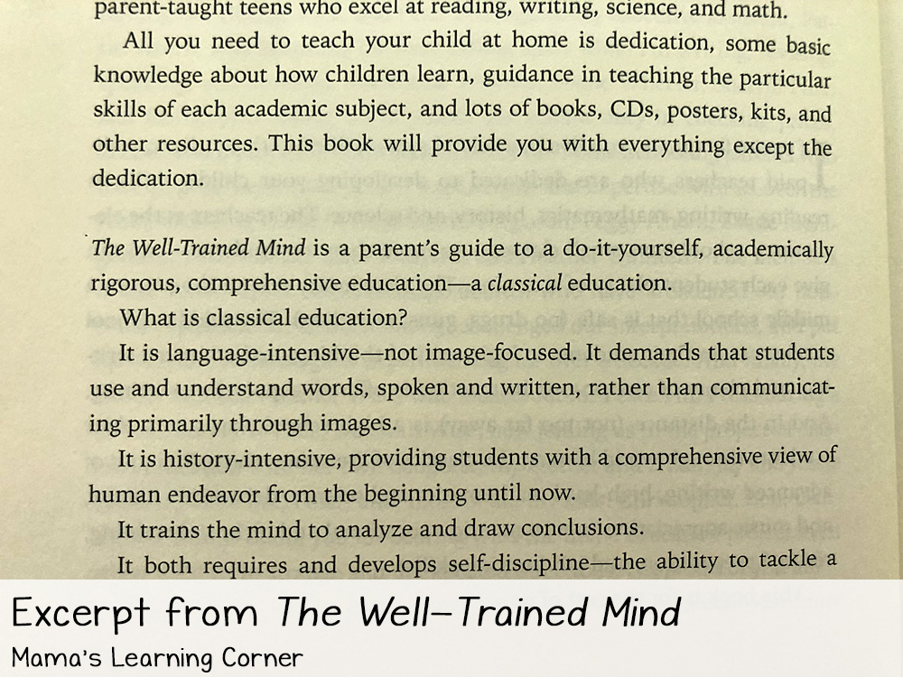Educating Myself as a Classical Homeschooling Mom Well Trained Mind