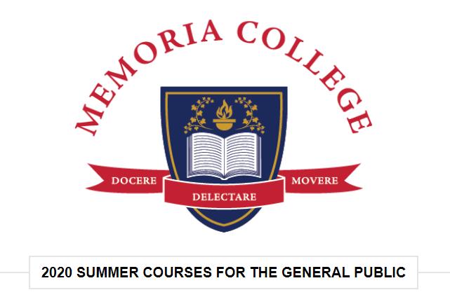 Memoria Press Classes Summer 2020