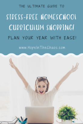 The Secret to Stress-Free Homeschool Curriculum Shopping