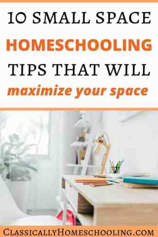 Homeschool in a Small Space