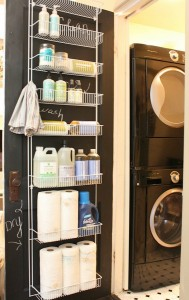Laundry-Room-Organization-Ideas-Hanging-Door-Rack