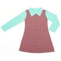 ninie-kinderkleding-polo-dress-taupe-bloem-hr