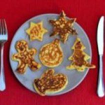 Pancake kerst art