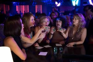 (L to R) Blair (Zo' Kravitz), Alice (Jillian Bell), Jess (Scarlett Johansson), Frankie (Illana Grazer) and Pippa (Kate McKinnon) in Columbia PicturesÕ ROUGH NIGHT.