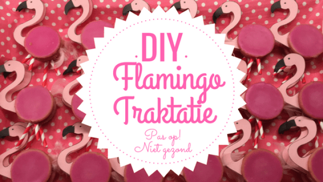 DIY Flamingo Traktatie
