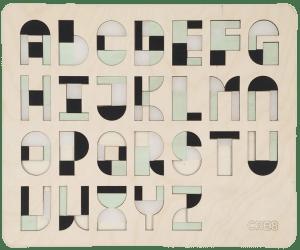 Cre8 letterpuzzel