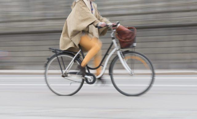carriere-mama op de fiets