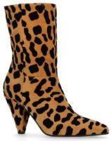 Luipaard print laarzen van Sascha