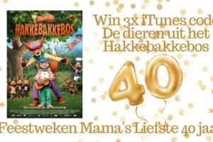 Feestweken Mama's liefste 40 jaar De dieren uit het De dieren uit het Hakkebakkebos