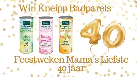 Feestweken Mama's liefste 40 jaar Kneipp Badparels
