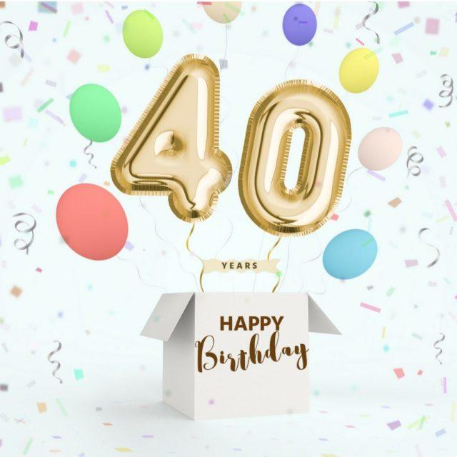 hoera 40 jaar