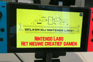 Workshop Nintendo Labo