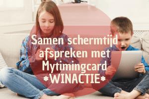 Samen schermtijd afspreken met Mytimingcards + winactie (1)