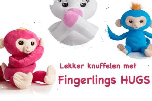Lekker knuffelen met Fingerlings HUGS