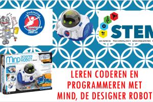 Leren programmeren met MIND, de designer Robot
