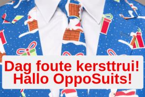Dag foute kersttrui, hallo OppoSuite!