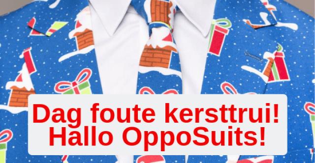 Dag foute kersttrui, hallo OppoSuits!
