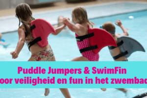 Puddle Jumpers & SwimFin voor veiligheid en fun in het zwembad