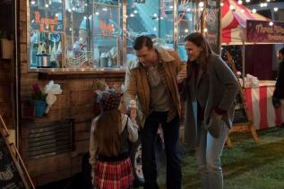 Cailey Fleming, Jeff Hephner and Jennifer Garner star in PEPPERMINT