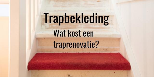 Trapbekleding - Wat kost een traprenovatie? Door MyImages - Micha - Shutterstock