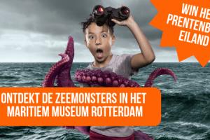 Ontdekt de Zeemonsters in het Maritiem Museum Rotterdam