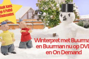 Winterpret met Buurman en Buurman op DVD en On Demand