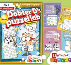 Denksport Junior Dokter D's PuzzelLab
