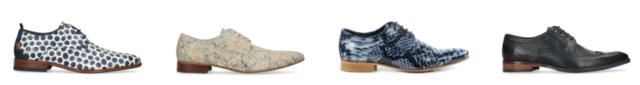 Heren schoenen printje