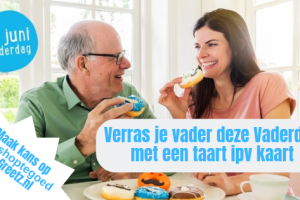 Vaderdag Winactie | Verras je vader met een Greetz taart ipv kaart