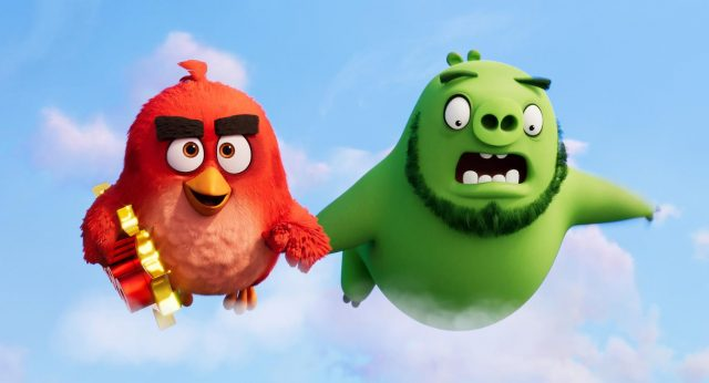 Red (Jason Sudeikis) and Leonard (Bill Hader) in Columbia Pictures and Rovio Animations' ANGRY BIRDS 2