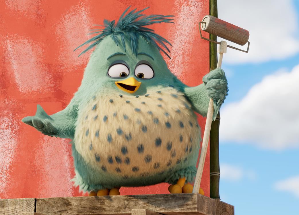 Alex (Lil Rel Howery) in Columbia Pictures and Rovio Animations' ANGRY BIRDS 2.