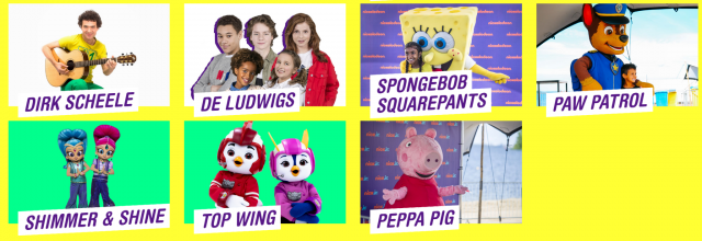 Nickelodeon Familie Festival Meet & Greets