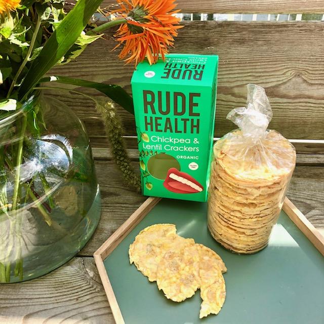 Jouwbox 6 - Chickpea & Lentil Crackers - Rude Health