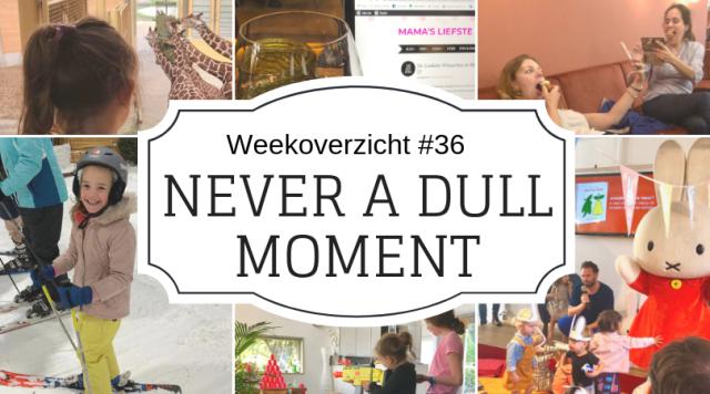 Weekoverzicht | Never a dull moment week 37 - geen avond thuis en toch een momentje voor mezelf