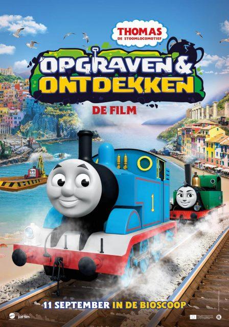 Thomas de Stoomlocomotief film; Opgraven & Ontdekken