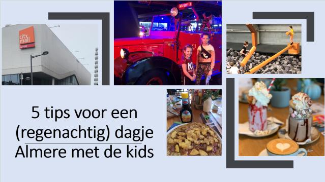5 tips voor een (regenachtig) dagje Almere met de kids
